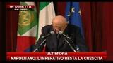 3-Napolitano: sul federalismo non giocare con le parole