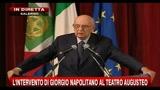 2-Napolitano: il risanamento è uno sforzo ineludibile