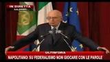 4-Napolitano: la prosecuzione della legislatura è  un'evoluzione costruttiva