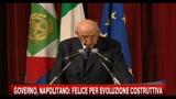Napolitano: Contro di me polemiche poco garbate