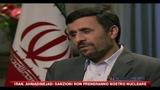 16/09/2010 - Iran, Ahmadinejad sanzioni non freneranno il nostro nucleare