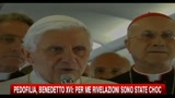 16/09/2010 - Pedofilia, Benedetto XVI: per me uno choc