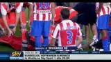 21/09/2010 - Infortunio Leo Messi, la Pulce si consola così