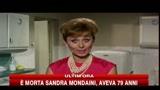 E' morta Sandra Mondaini, aveva 79 anni