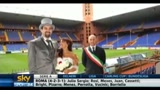 Amore per il Genoa: le prime nozze al Ferraris