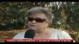 Funerali Sandra Mondaini, il dolore dei cittadini di Milano