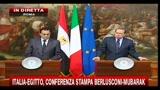 Conferenza Mubarak-Berlusconi