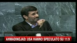 Ahmadinejad parla all'Onu, delegati Usa e Ue lasciano aula