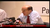 Pd, Bersani, la bussola c', ora partito pensi al paese
