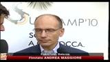 Pd, Letta: Vera alleanza per far cadere Berlusconi