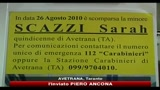 Avetrana, un mese fa la scomparsa di Sarah Scazzi