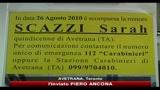 Avetrana, un mese fa la scomparsa di Sarah Scazzi