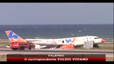 25/09/2010 - Aereo fuori pista a Palermo, aperte due inchieste