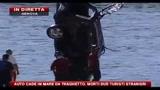 Auto cade in mare da traghetto, morti due turisti stranieri