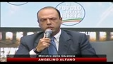 26/09/2010 - Fini, Alfano: se avanti con schermaglie meglio il voto