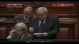 Fiducia alla Camera, le reazioni: Pierluigi Castagnetti