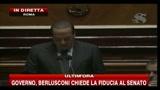 Berlusconi: ora la maggioranza è più forte