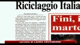 Riciclaggio, l'inchiesta del direttore di Avanti