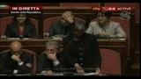 Fiducia al Senato: intervento di Anna Finocchiaro