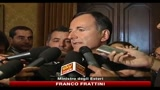 01/10/2010 - Terrorismo, Frattini: nessun allarme particolare per Italia
