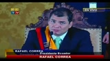 Presidente Ecuador:  stato un golpe coordinato