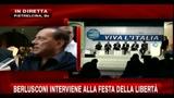 Intervento telefonico di Silvio Berlusconi alla Festa della Libertà di Benevento