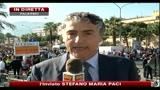 Il Papa arrivato a Punta Raisi, è la prima visita in Sicilia