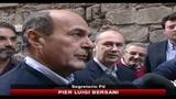 Bersani, governo non tiene, bastano 3 minuti per capirlo