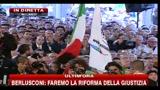 15 - Berlusconi, festa PDL: dal 1993 coerente nella difesa della libertà