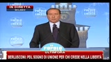 4 - Berlusconi, festa PDL: agli italiani un opuscolo su attività di governo