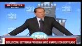 5 - Berlusconi, festa PDL: ho convinto USA a stanziare fondi per banche