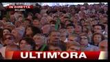 6 - Berlusconi, festa PDL: vogliamo essere il governo che ha sconfitto la mafia