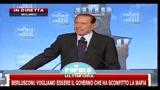 7 - Berlusconi, festa PDL- debito pubblico frutto dei cattivi governi passati