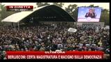 14 - Berlusconi, festa PDL: certa magistratura è macigno per la democrazia