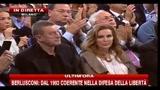 16 - Berlusconi, festa PDL- faremo 61mila team della libertà