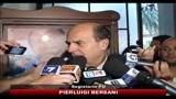 Nomina Ministro Sviluppo Economico, le reazioni Bersani e Saglia