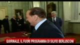 Quirinale, il fuori programma di Silvio Berlusconi