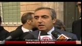 06/10/2010 - Riunione di maggioranza, Gasparri e Reguzzoni