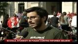 Scuola, studenti in piazza contro riforma Gelmini, le voci