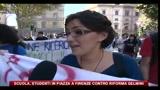 Scuola, studenti in piazza a Firenze contro riforma Gelmini, le voci