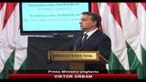 10/10/2010 - Disastro ambientale Ungheria, Orban: responsabili pagheranno
