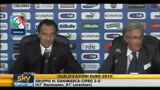 Scontri Italia-Serbia, conferenza di Prandelli