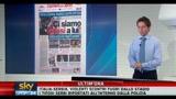 Scontri Italia-Serbia, i primi titoli di giornale