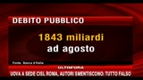 Nuovo record del debito pubblico