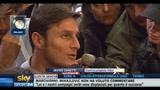 Zanetti commenta gli scontri al Marassi