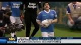 Maradona torna in campo