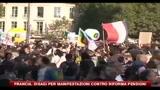 Francia, disagi per manifestazioni contro riforma pensioni