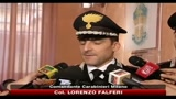 Testimone sciolta in acido, parla Comandante Carabinieri