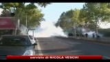 18/10/2010 - Riforma pensioni in Francia, scontri tra studenti e polizia