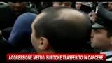 Burtone in carcere, tensione all'arrivo dei carabinieri